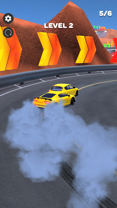Downhill Drift! screenshot 2