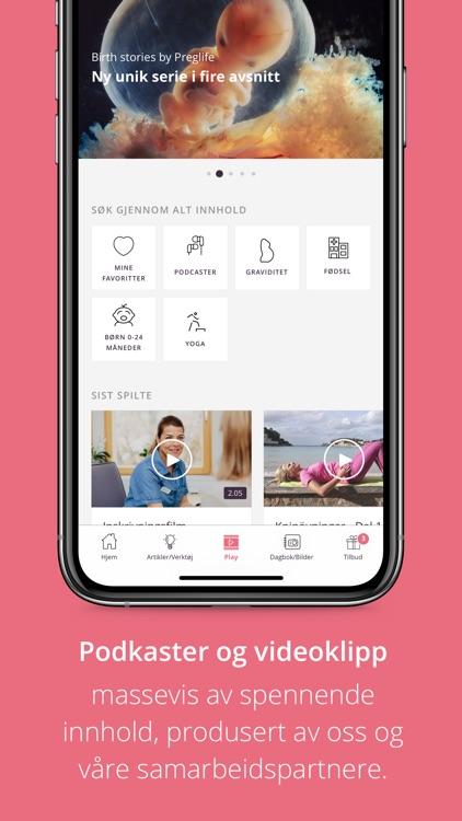 Preglife, Gravid & Baby App screenshot-5