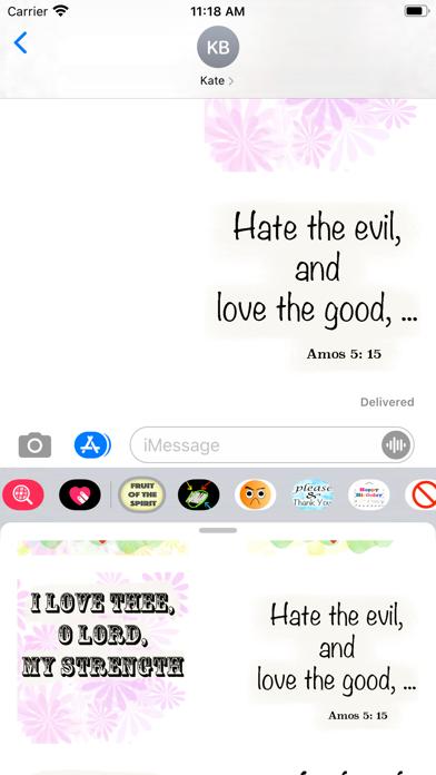 fruit of the spirit stickers screenshot 3