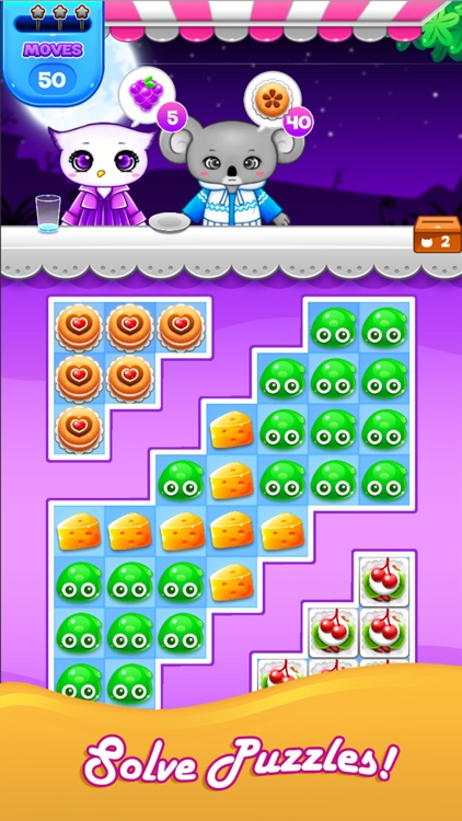 Candy Sweet: Match 3 Games screenshot-3