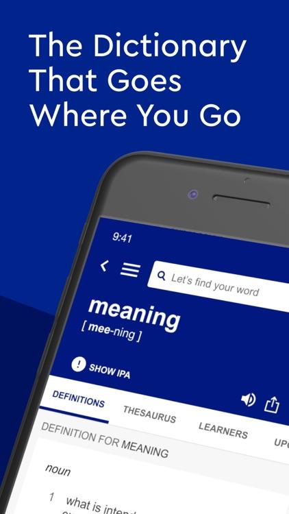 Dictionary.com Pro English screenshot-0