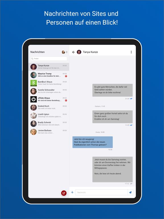chayns Intercom screenshot 3