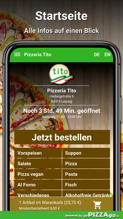 Pizzeria Tito Leipzig screenshot 2