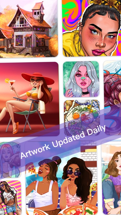 Color By Number - Fun Coloring screenshot-0
