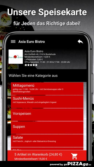 Asia Euro Bistro Buxtehude screenshot 4