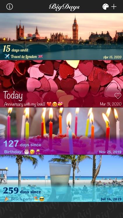 Big Days Pro Events Countdown screenshot-3