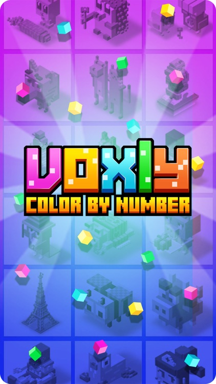 Voxly: color by number screenshot-6