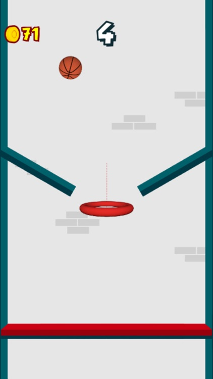 Dunk The Hoops - Bouncy Ball screenshot-4