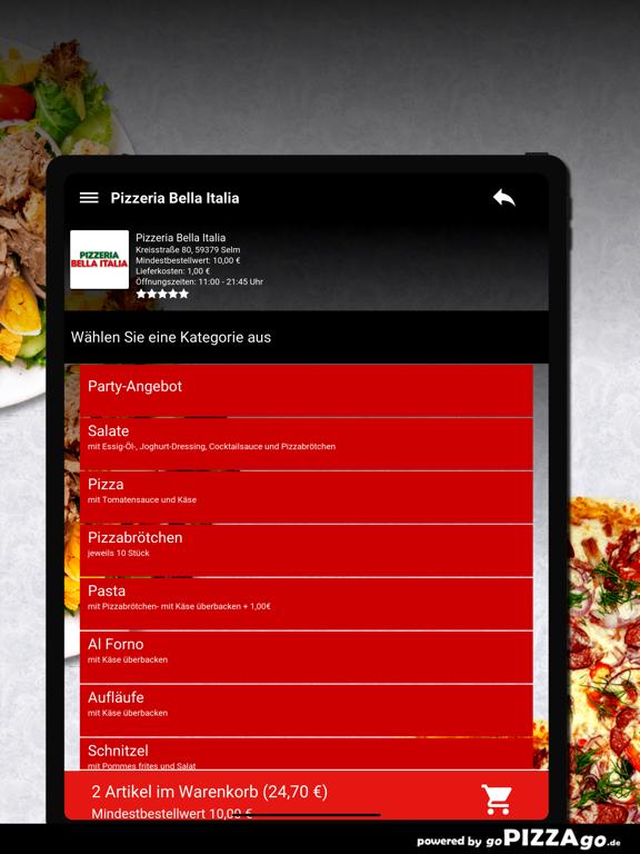 Pizzeria Bella Italia Selm screenshot 8