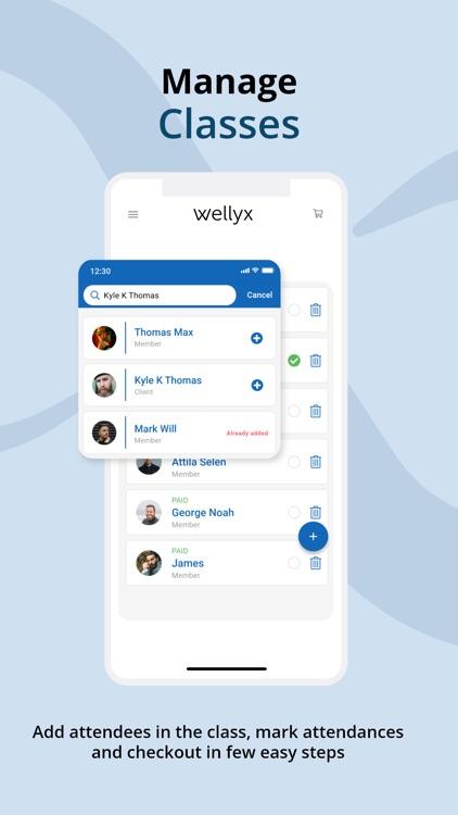Wellyx Staff screenshot-3