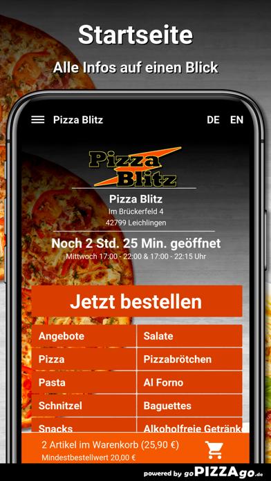 Pizza Blitz Leichlingen screenshot 2