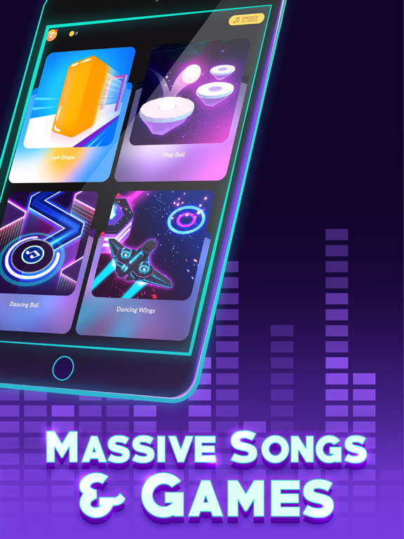 iPad Image of Game of Songs - Music Gamehub