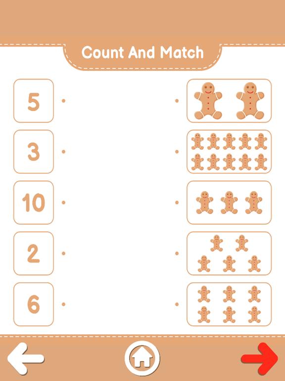 Count And Match XMas screenshot 20