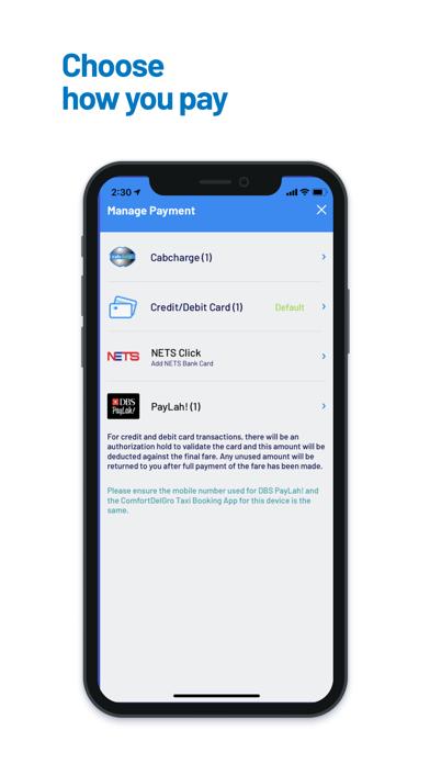 ComfortDelGro Booking Appのおすすめ画像4