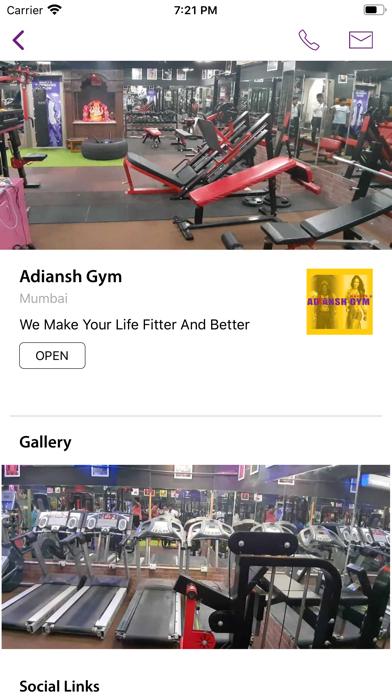 Adiansh Gym screenshot 1