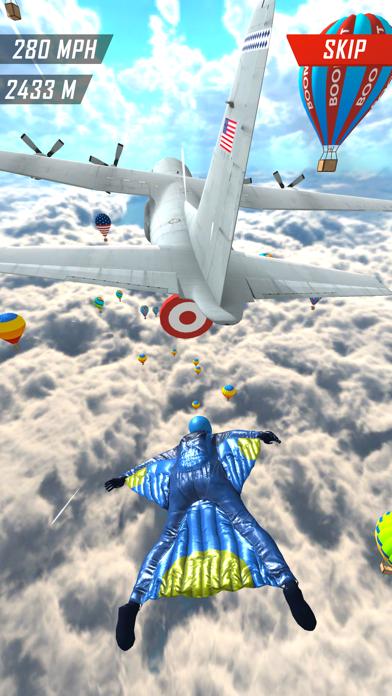 Base Jump Wing Suit Flying screenshot 3