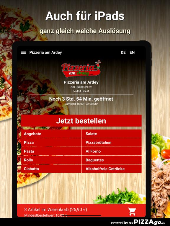 Pizzeria am Ardey Soest screenshot 7
