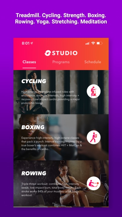 STUDIO GO - Treadmill & HiiT screenshot-3