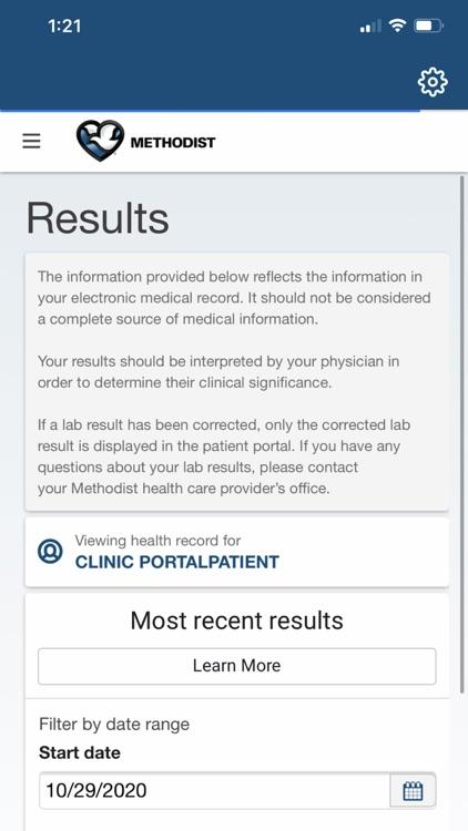 Methodist My Care screenshot-5