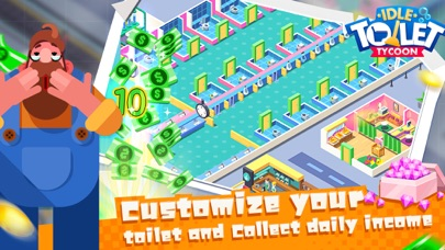Toilet Empire TycoonCaptura de pantalla de4