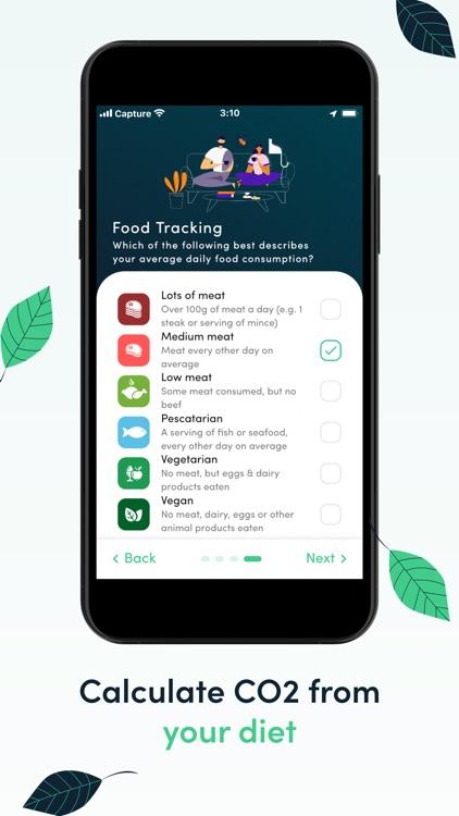 Carbon footprint & CO2 tracker screenshot-5