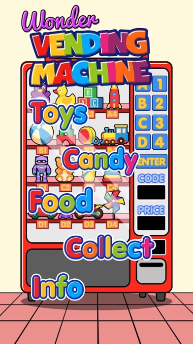 Wonder Vending Machine screenshot 1