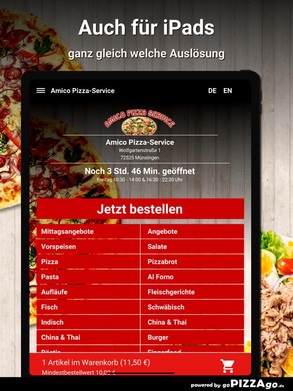 Amico Pizza-Service Münsingen screenshot 7