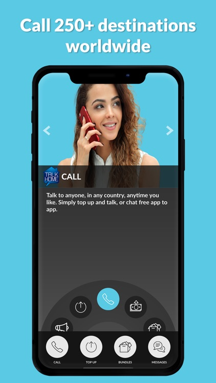 TalkHome International Calling