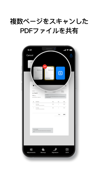 Scanner App - Cam to PDFのスクリーンショット3
