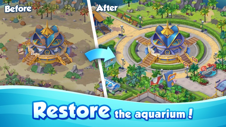 Aqua Blast: Puzzle Adventure screenshot-4