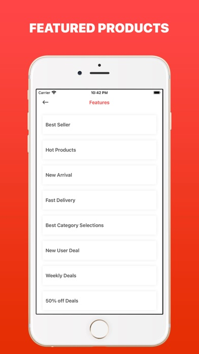 AliTrends: Products Trending Screenshot