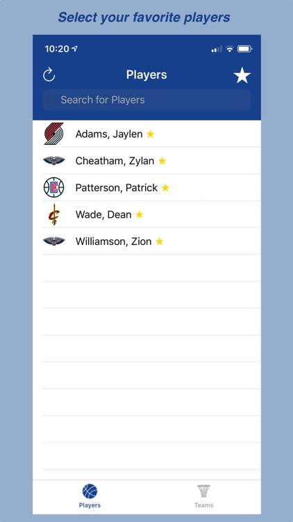 BBall Player Stats