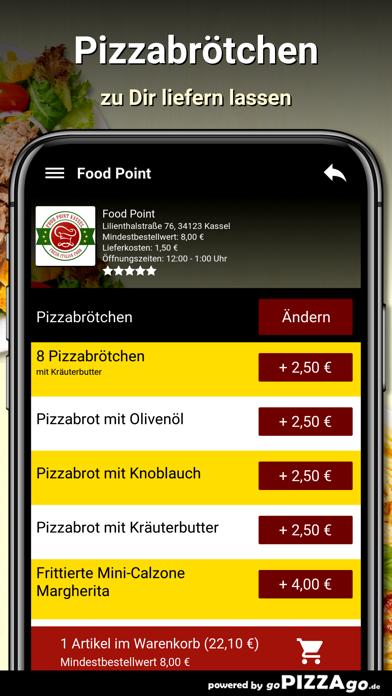 Food Point Kassel Pizza screenshot 5
