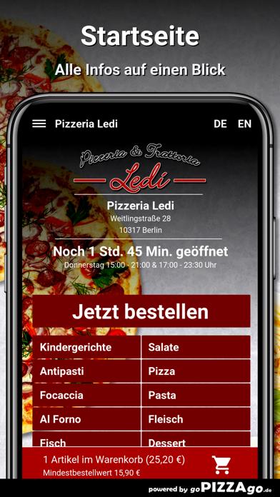 Pizzeria Ledi Berlin screenshot 2