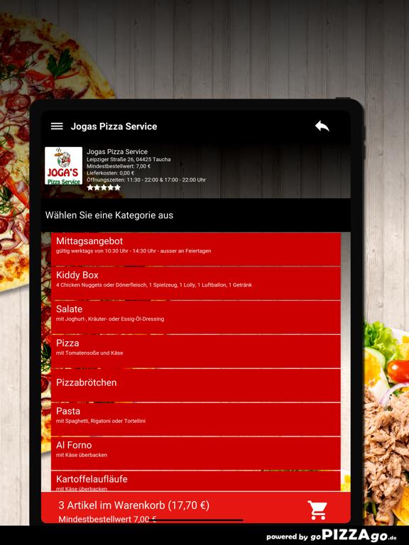 Jogas Pizza Service Taucha screenshot 8
