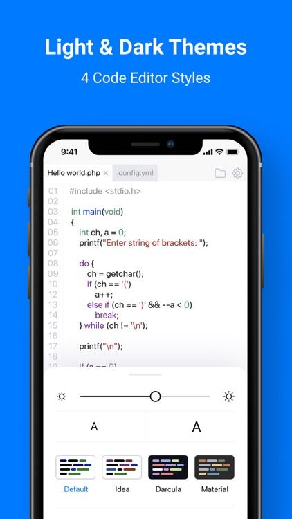 CodeSnack IDE screenshot-4
