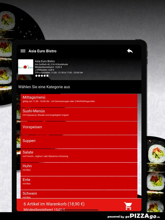 Asia Euro Bistro Buxtehude screenshot 8