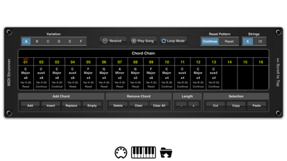 MIDI Strummer AUv3 Plugin screenshot 4