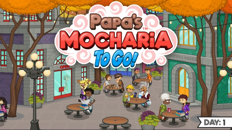 Papa's Mocharia To Go!