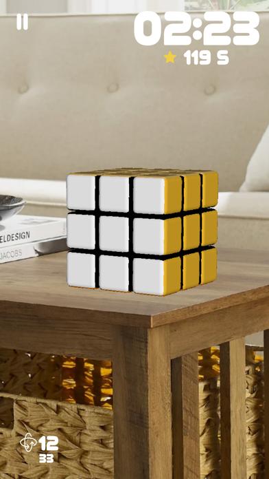 Screen Shot Rubiks Cube AR 5