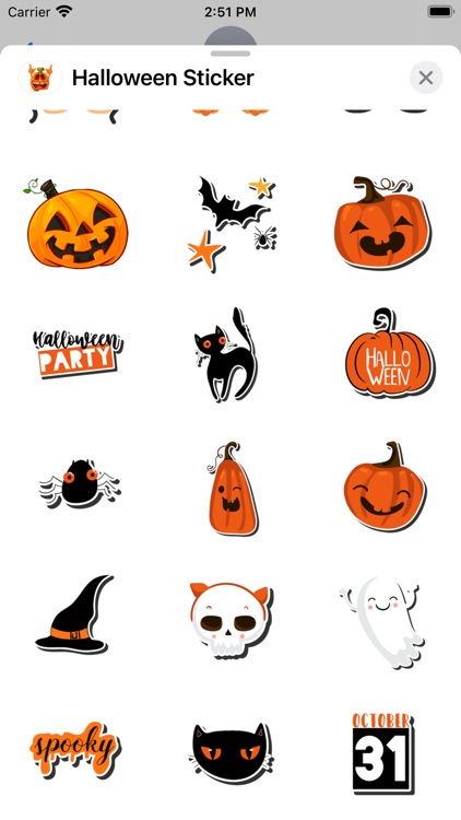 New Halloween Stickers Pack