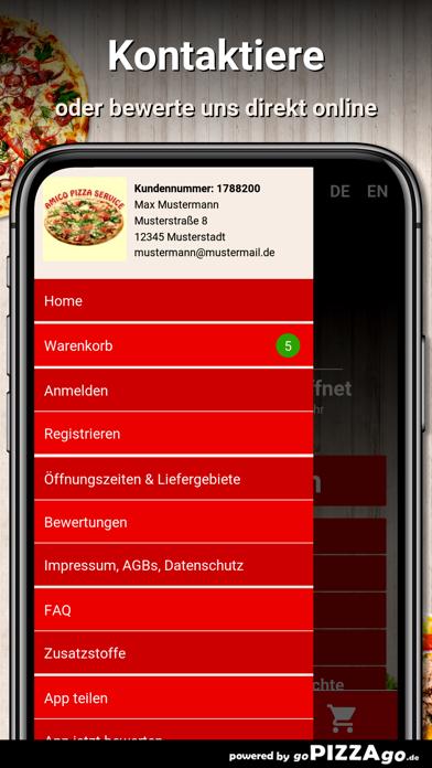 Amico Pizza-Service Münsingen screenshot 3
