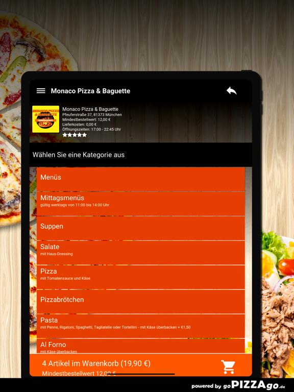 Monaco Pizza München screenshot 8
