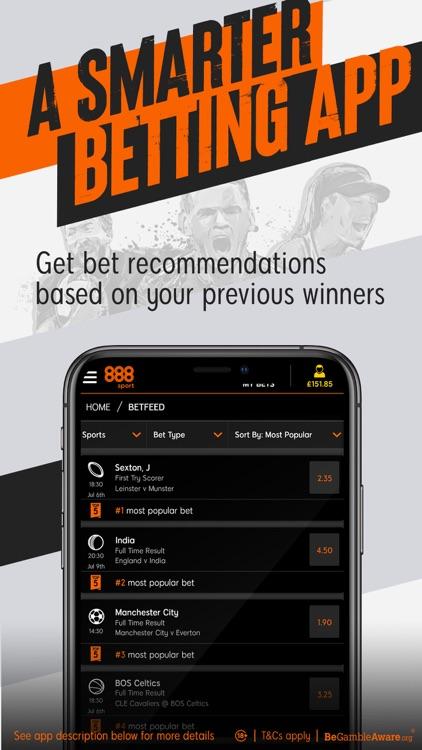 888sport: Live Sports Betting. screenshot-8
