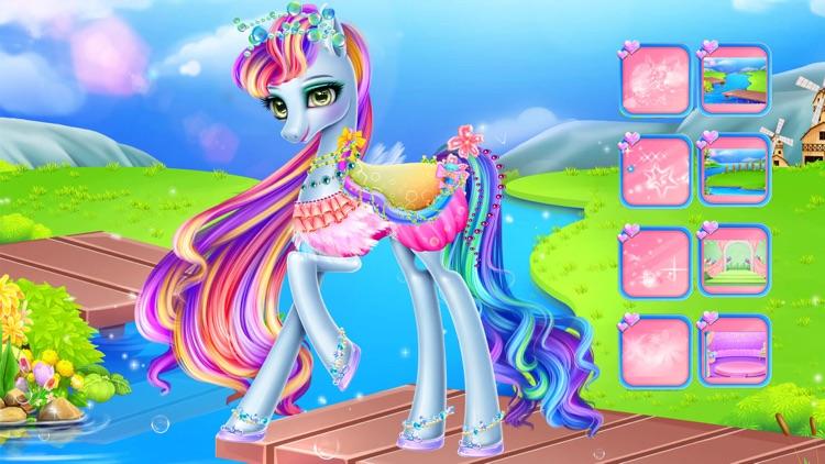 Rainbow Pony care screenshot-5