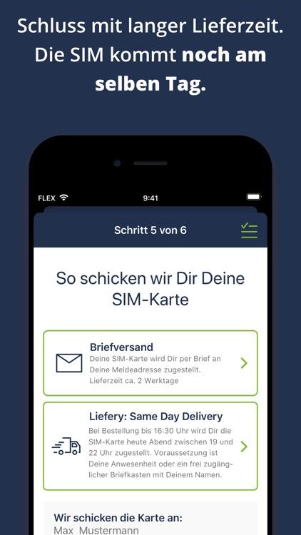 freenet FLEX. 3 Tarife – 1 App screenshot-7