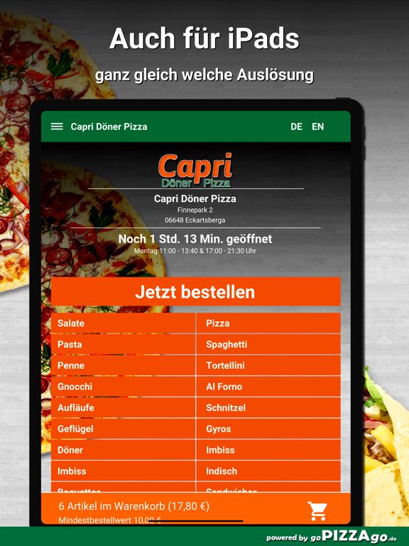 Capri Pizza Eckartsberga screenshot 7