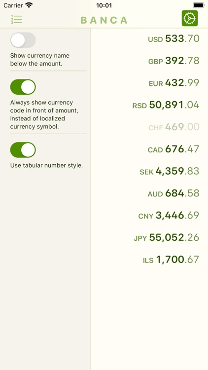 Banca currency converter screenshot-6