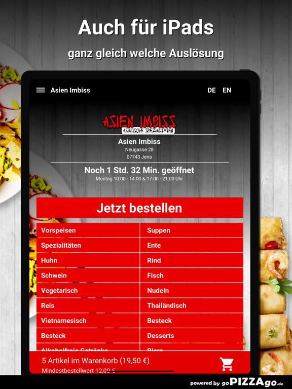 Asien Imbiss Jena Pizza screenshot 7
