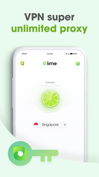 Lime VPN Super Unlimited Proxyلقطة شاشة2